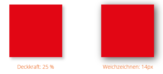 Schlagschatten in Illustrator